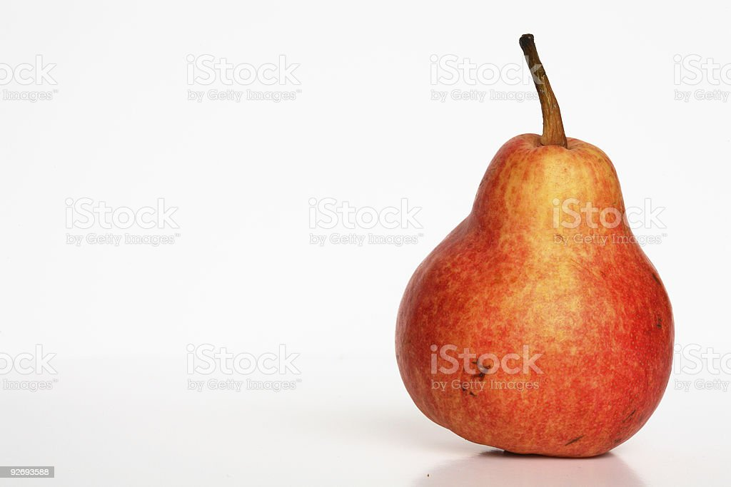 Pear - isolated royalty-free stock photo