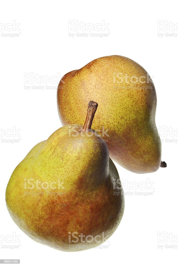 pear isolated royalty-free stock photo
