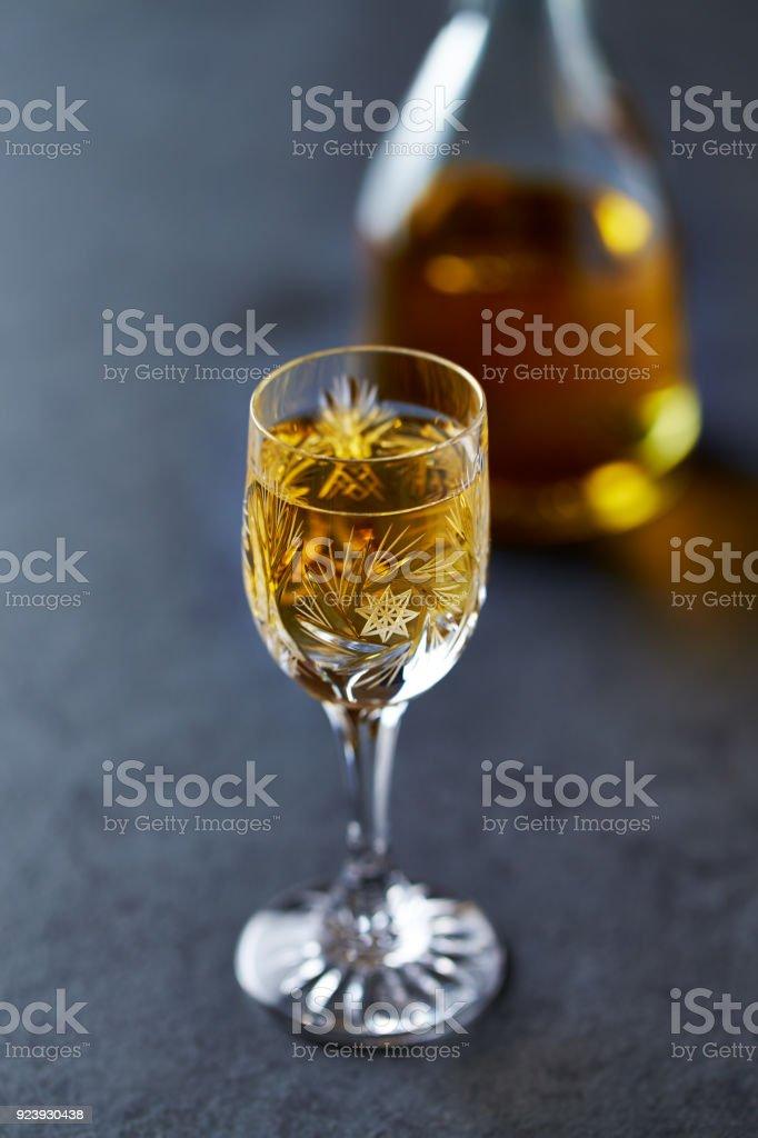 Pear Liqueur stock photo