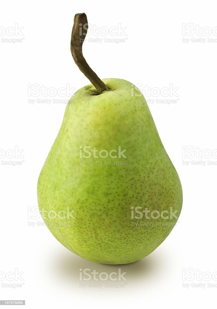 Pear (Clipping Path) royalty-free stock photo