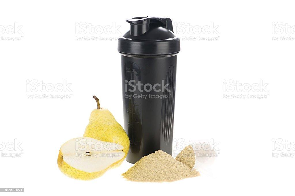 Pear shake royalty-free stock photo