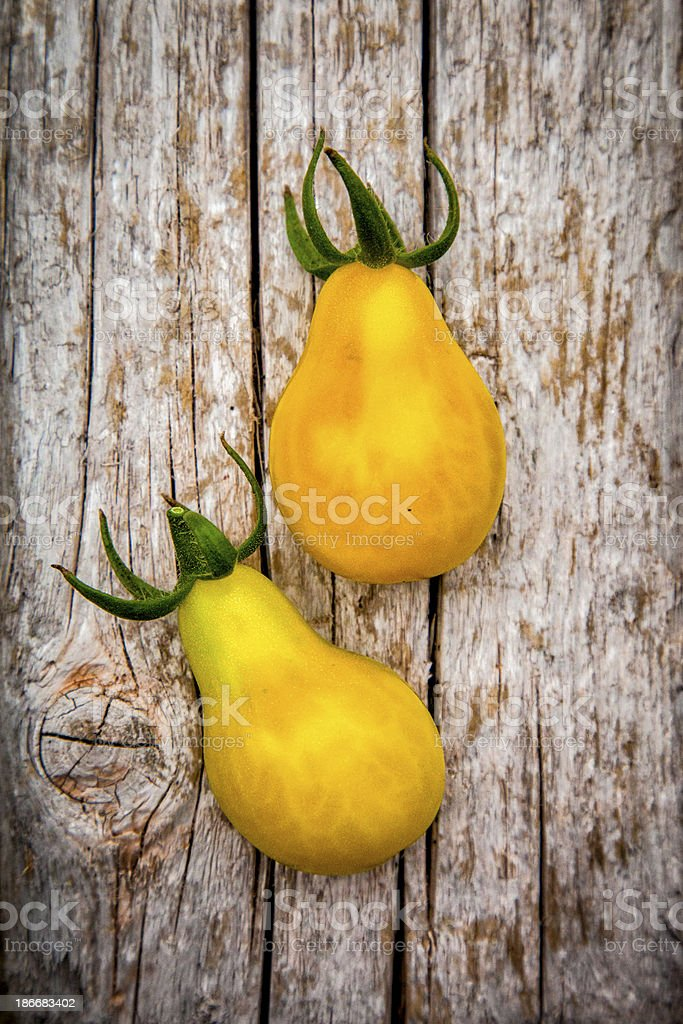 Pear Tomatoes stock photo