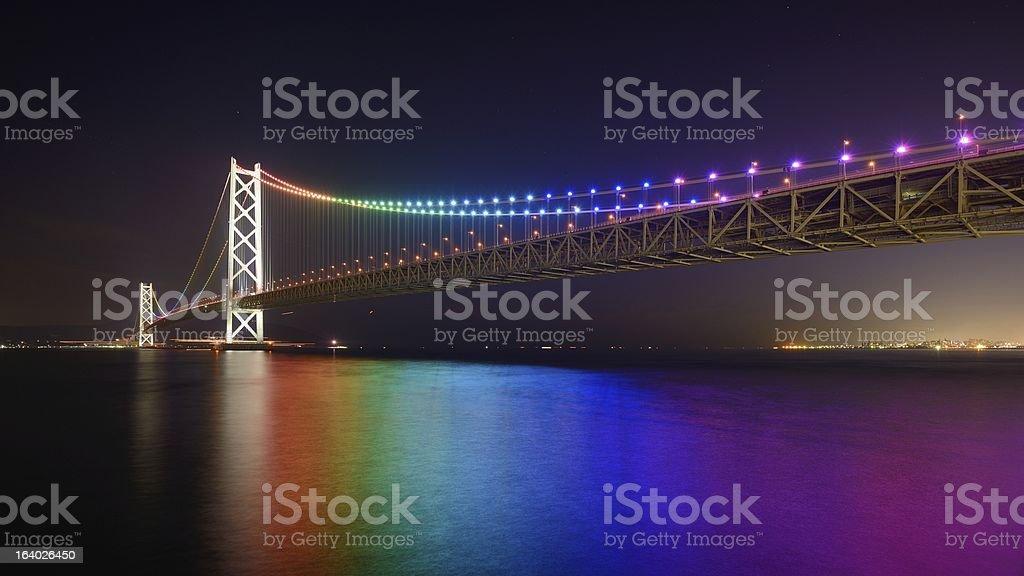 Pearl Bridge royalty-free stock photo