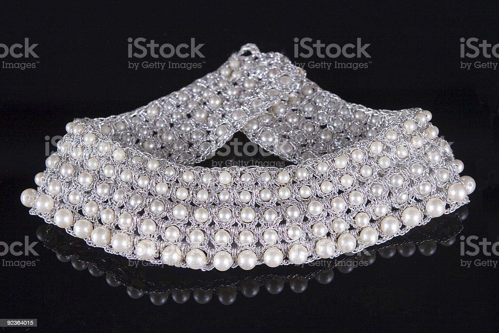 Pearl Choker royalty-free stock photo