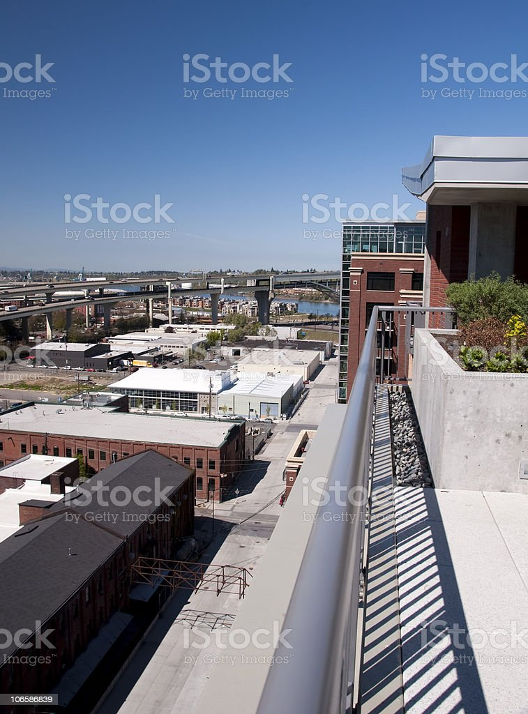 Pearl District, Downtown Portland, Oregon stock photo