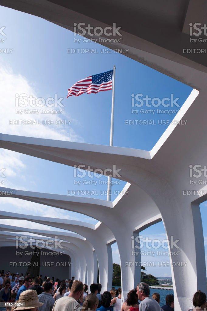 Pearl Harbor Hawaii stock photo