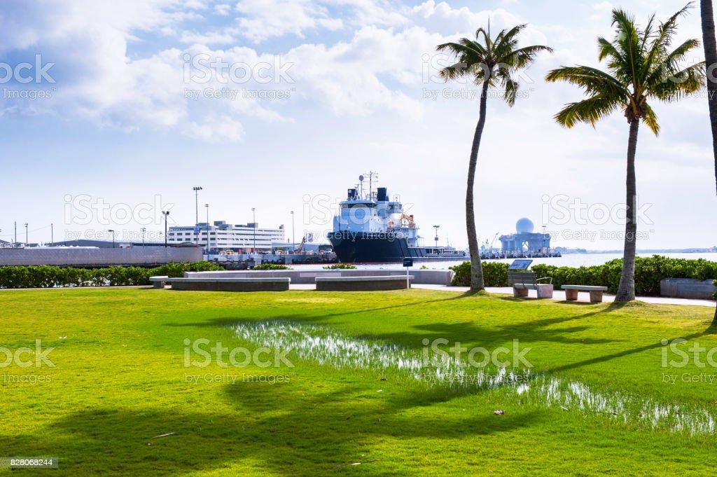 Pearl Harbor Historic Sites stock photo