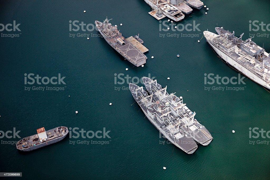 Pearl Harbor Honolulu stock photo