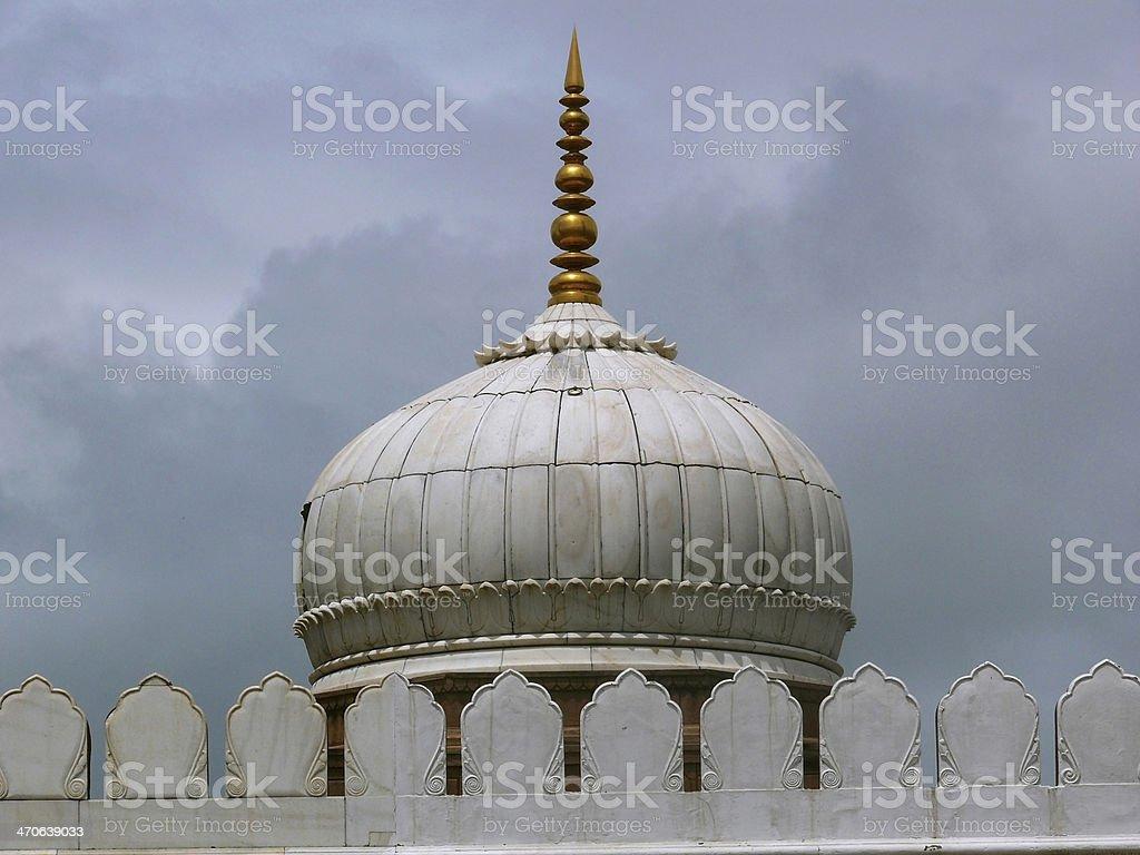 Pearl Mosque, Moti Masjid, stock photo