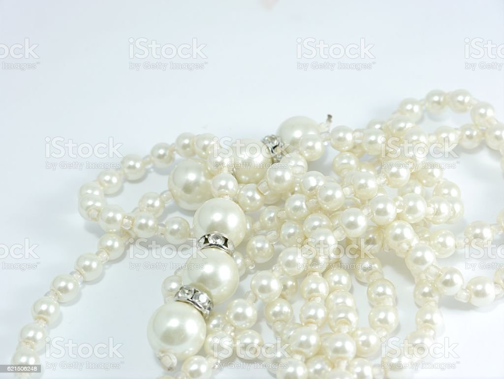 Collana di perle  foto stock royalty-free