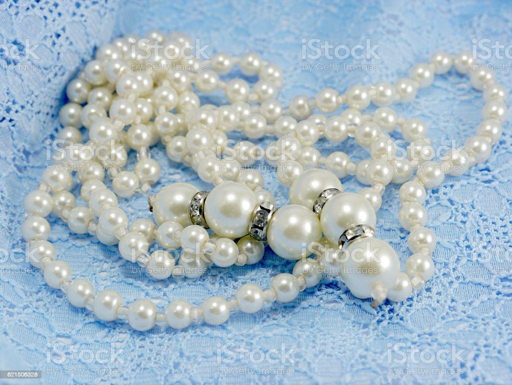 Perlenkette Lizenzfreies stock-foto