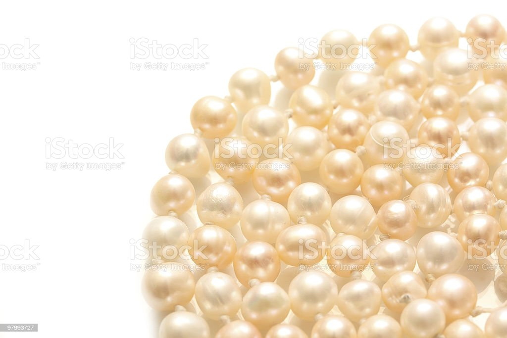 pearl royalty-free stock photo