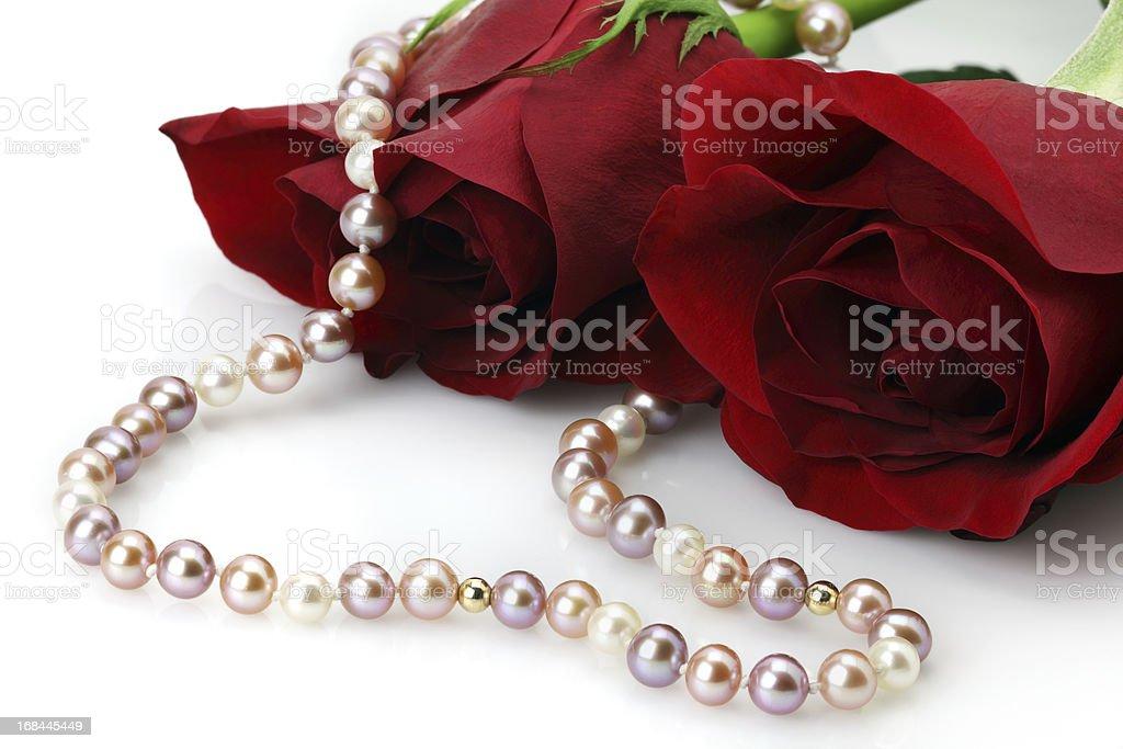 Pearl & Rose stock photo