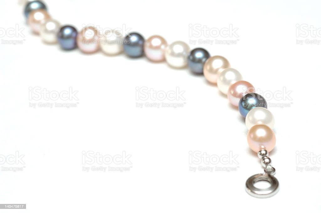 pearle necklace royalty-free stock photo