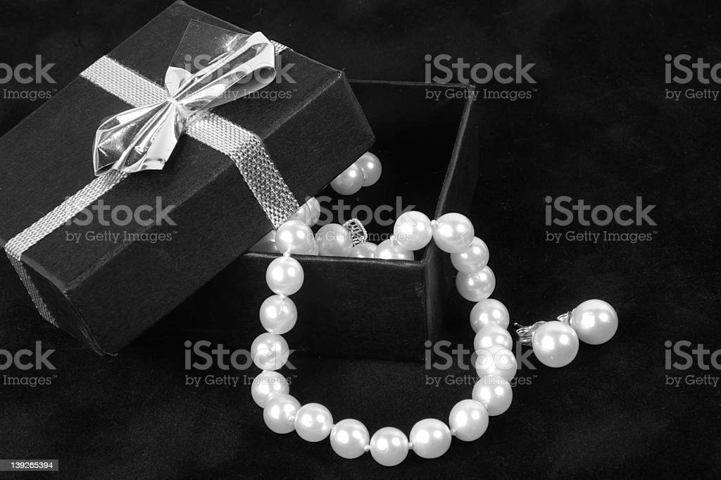Pearls 2 royalty-free stock photo