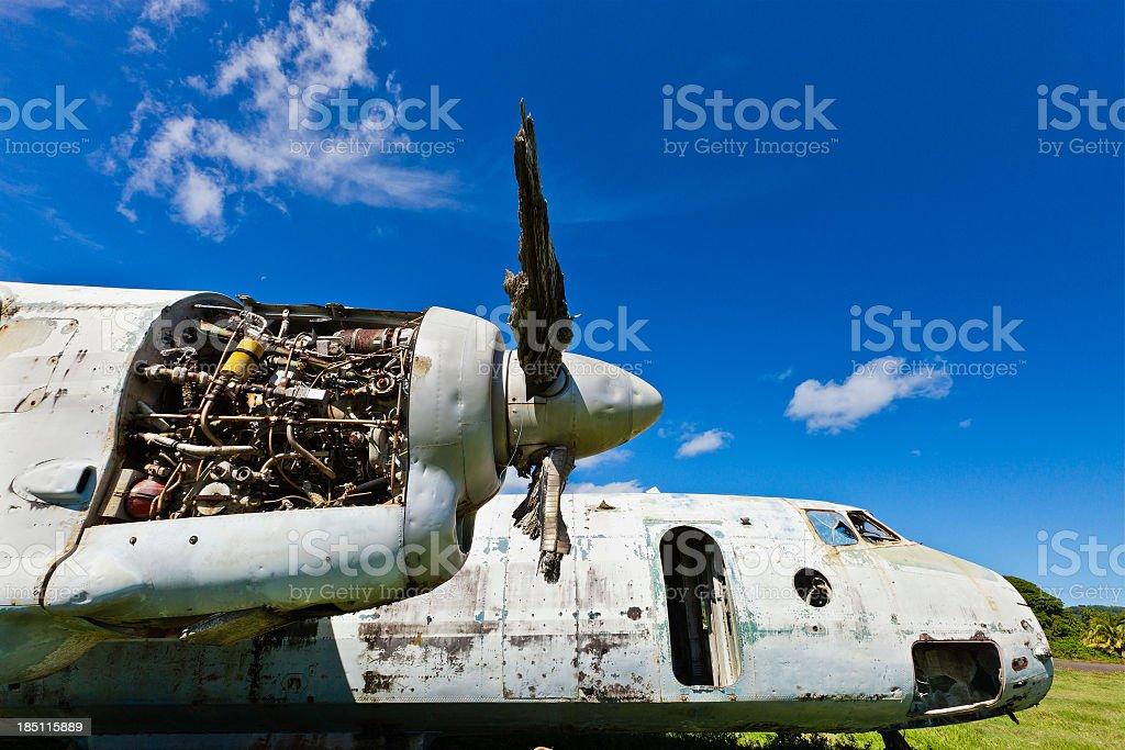 Pearls Airport, Grenada W.I. stock photo