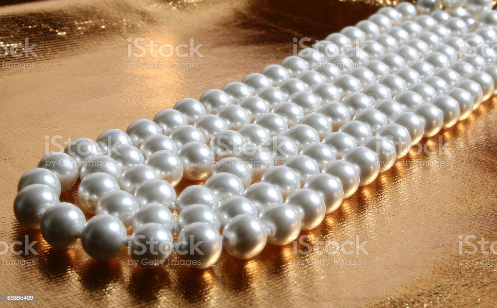 Pearls royalty free stockfoto