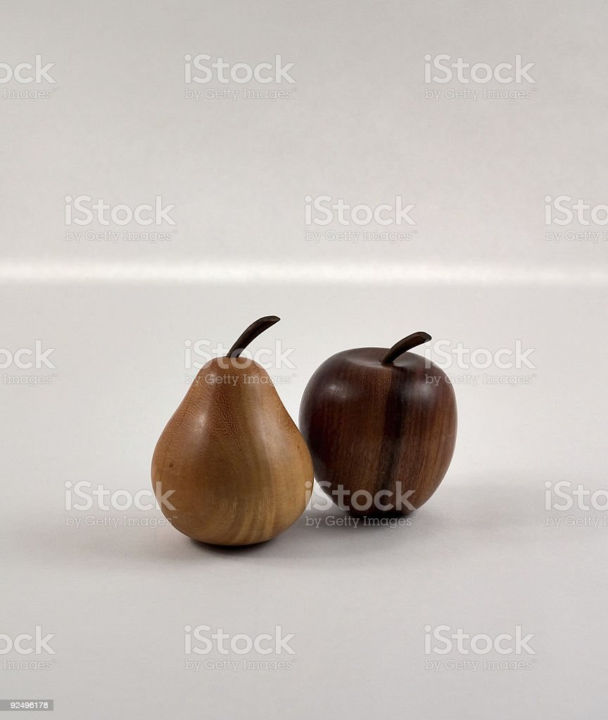 Pears and Apples royalty-free stock photo