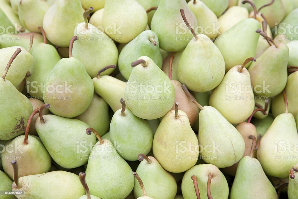 Pears background royalty-free stock photo