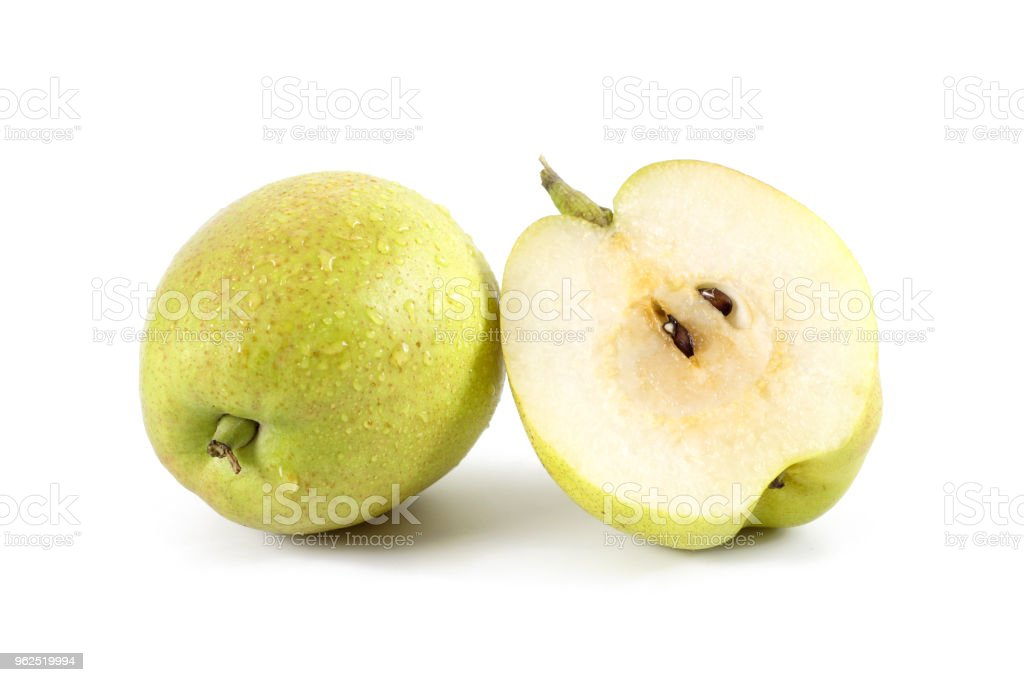 Pears isolated on white background. - Royalty-free Bright Stock Photo