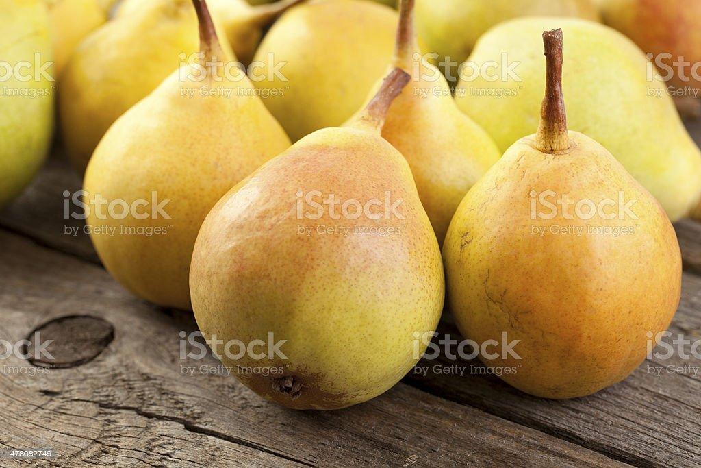 Pears royalty-free stock photo