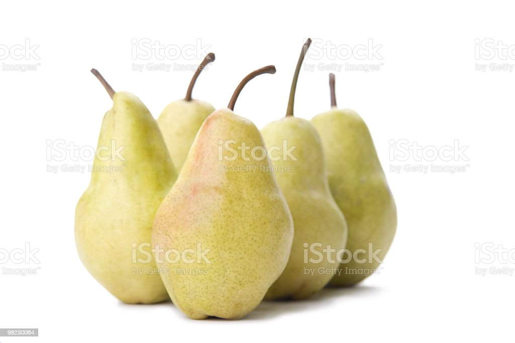 Pears. royalty-free stock photo