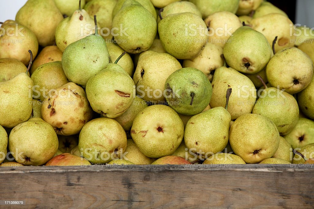 Pears stack XXXL royalty-free stock photo