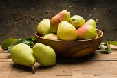 Still life with pears,