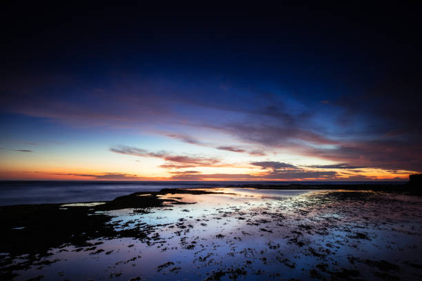 Pearses Beach in Blairgowrie Australia stock photo