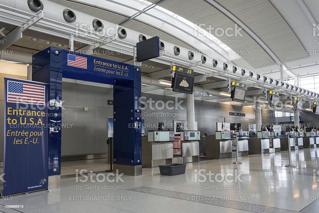 Pearson International Airport stock photo