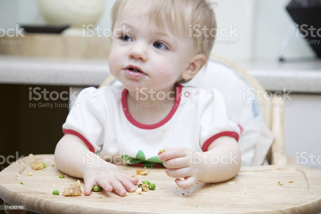 Peas Again... stock photo