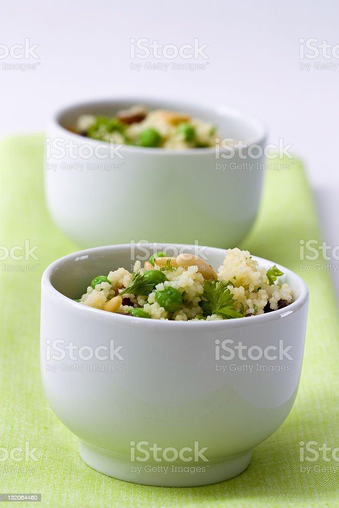 Peas Couscous royalty-free stock photo
