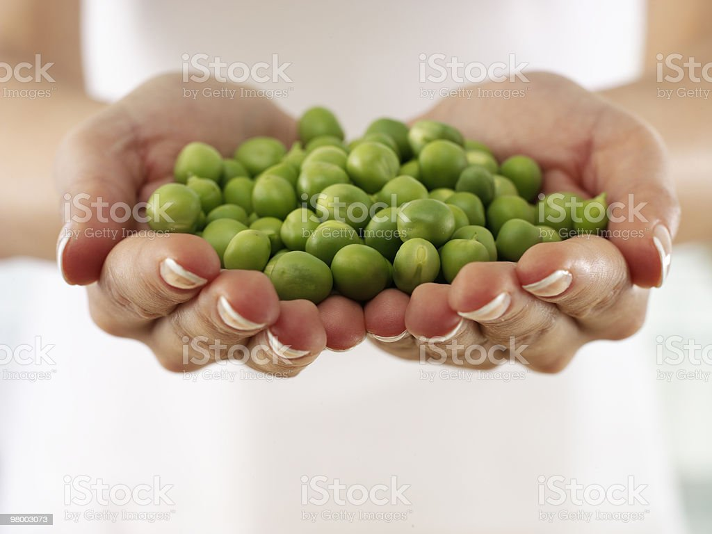 peas royalty free stockfoto