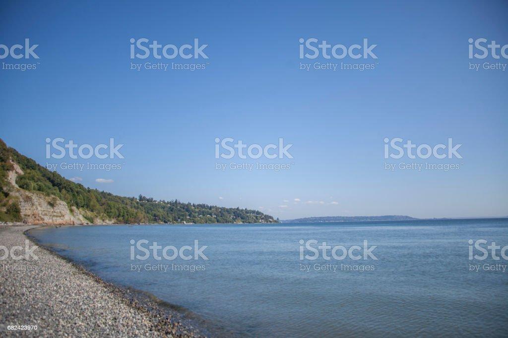 Pebble Beach royalty-free stock photo