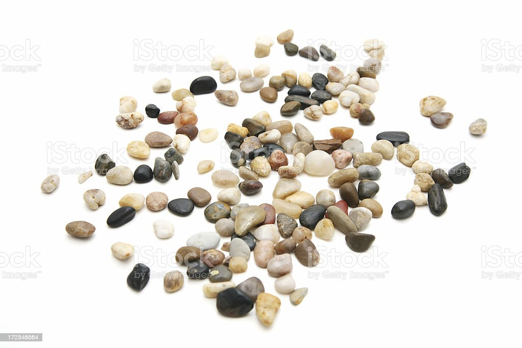Pebble collection royalty-free stock photo