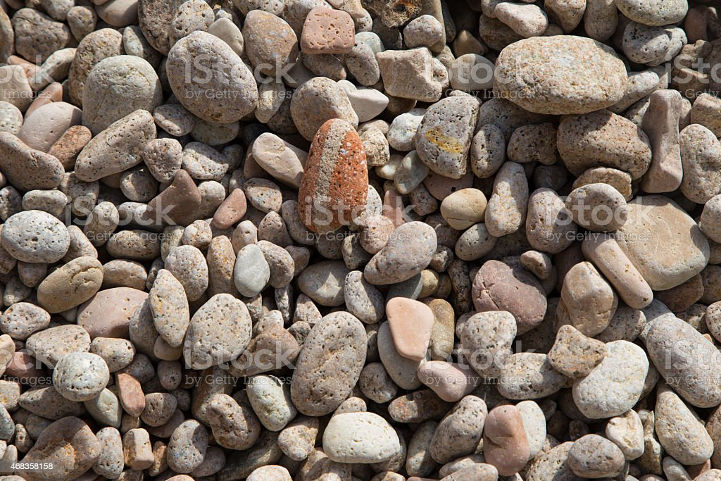 Pebble Stone background royalty-free stock photo