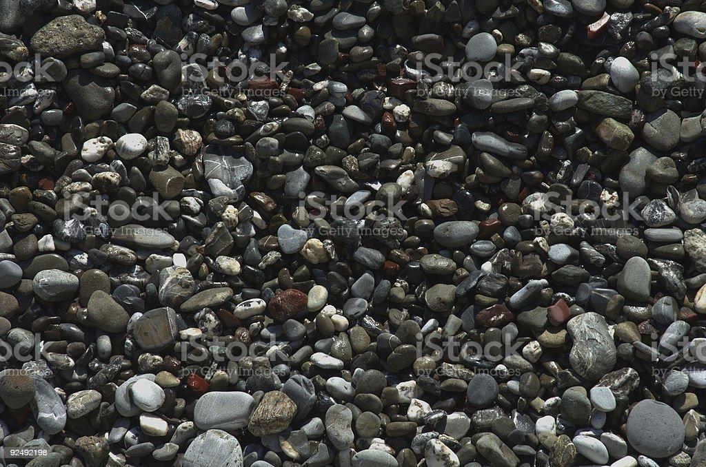 Pebble texture royalty-free stock photo