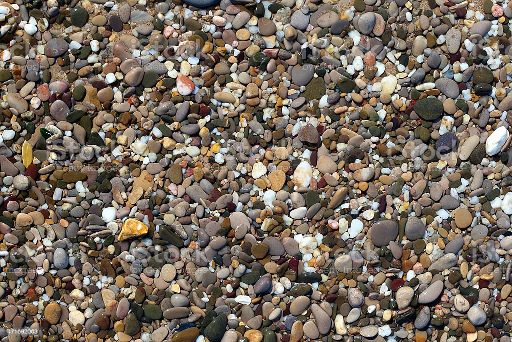 pebble under water beach royalty-free stock photo