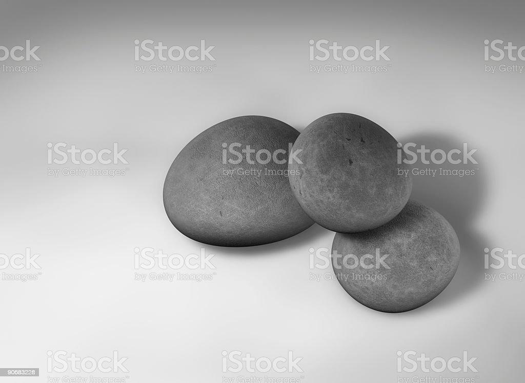 Pebbles 3 royalty-free stock photo