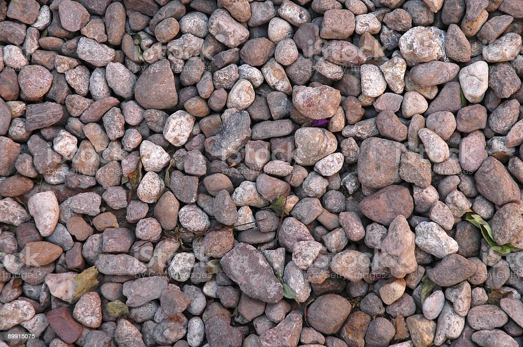 Pebbles and Rocks royalty-free stock photo