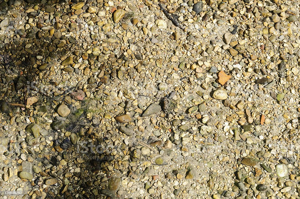 Pebbles and stone royalty-free stock photo