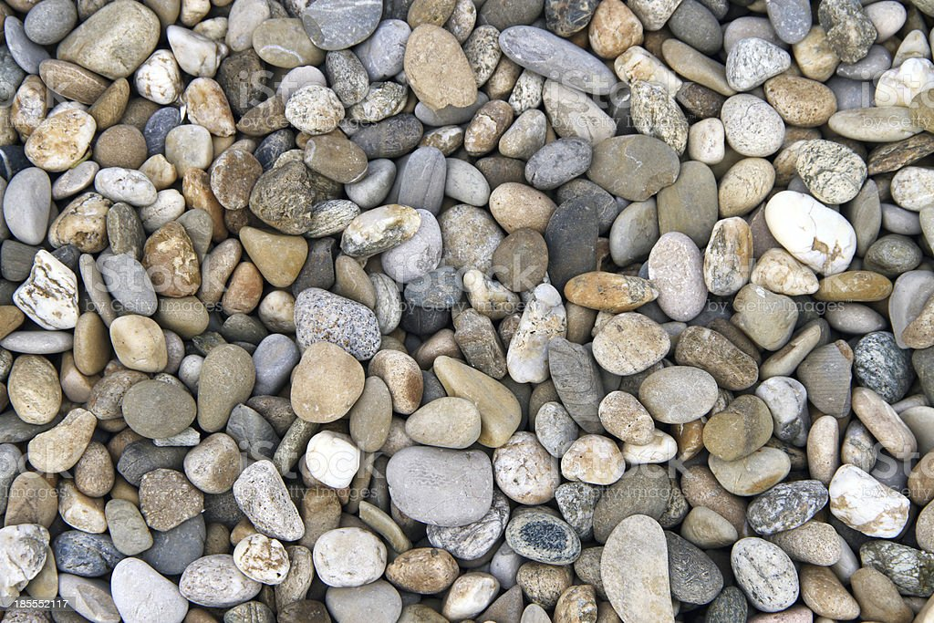 pebbles and stones stock photo