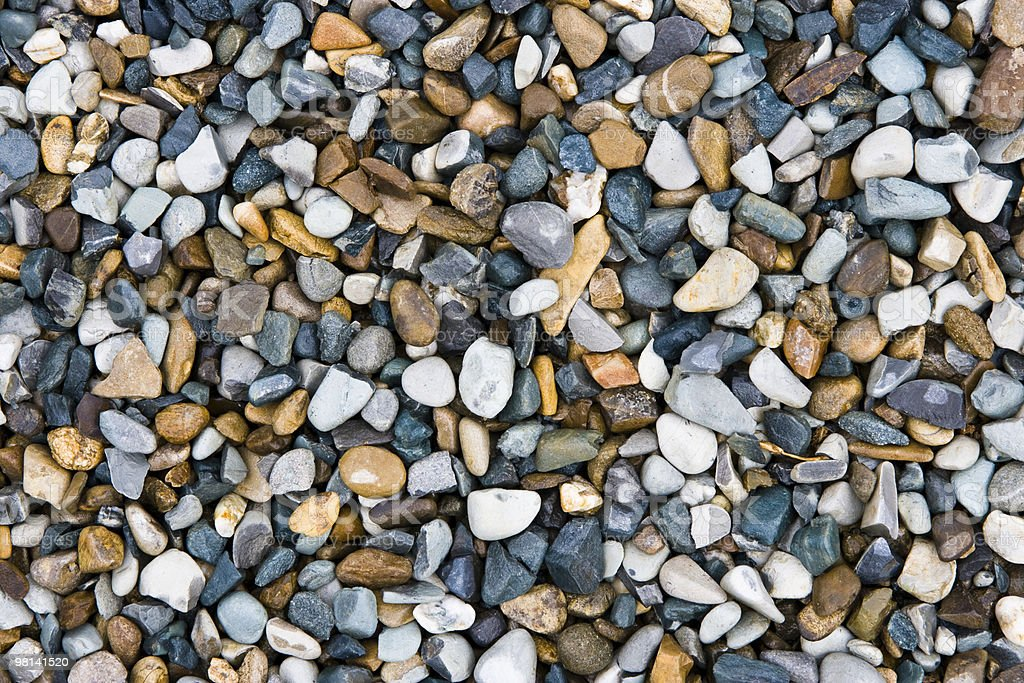 Pebbles background royalty-free stock photo