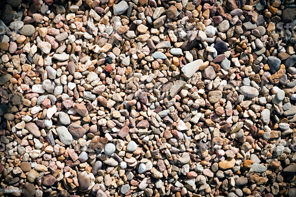 Pebbles background with vignette royalty-free stock photo