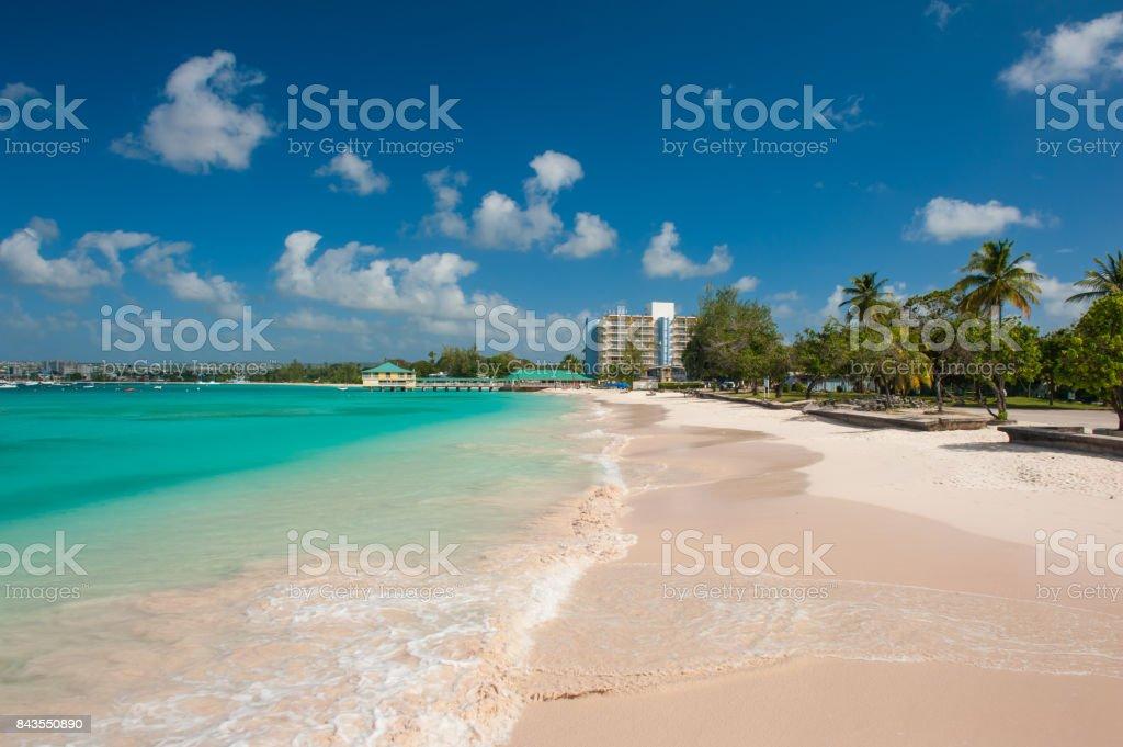 Pebbles Beach stock photo