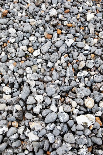 Pebbles on the Eastbourne shore