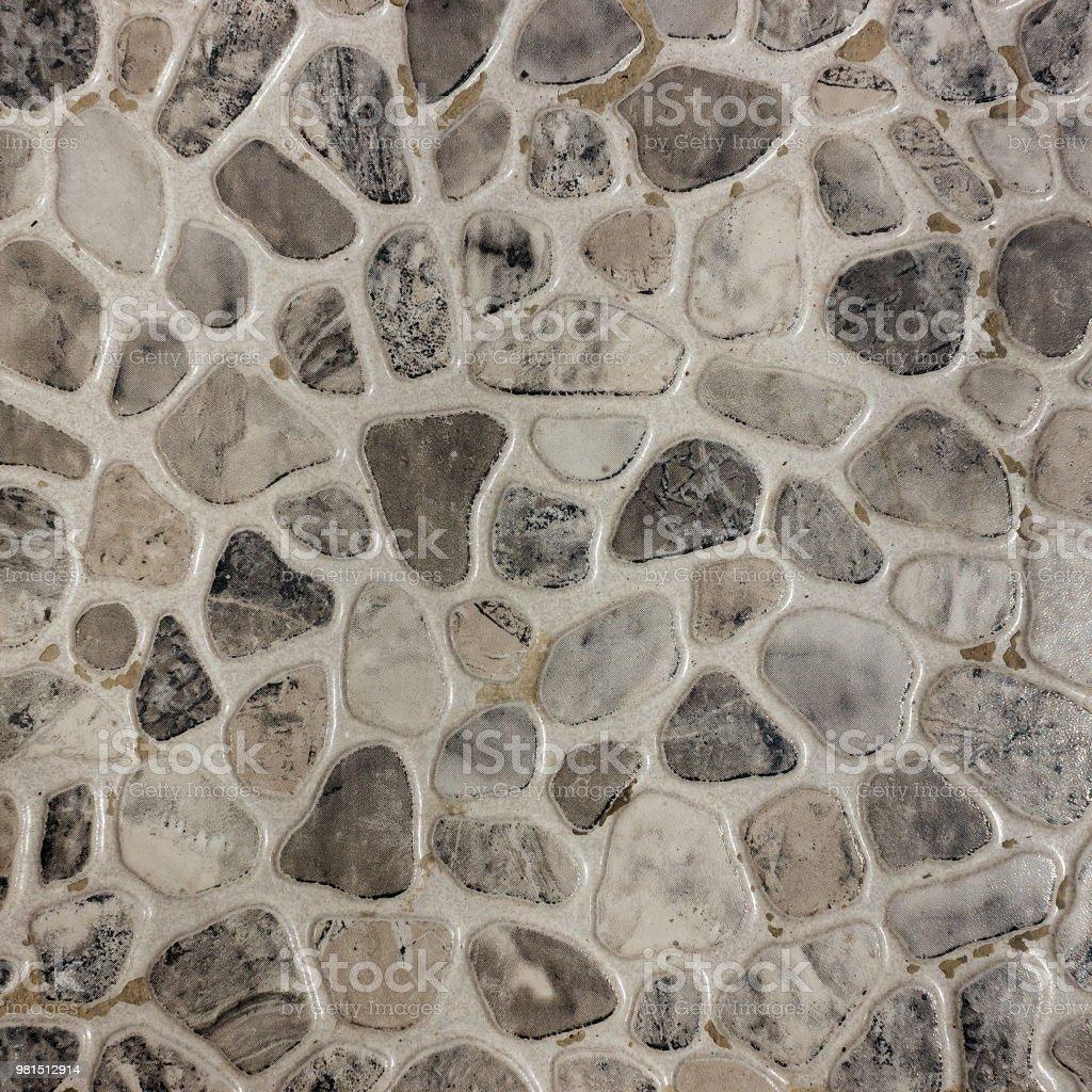 Carrelage En Galets Salle De Bain photo libre de droit de carreaux de galets mosaïques dans la
