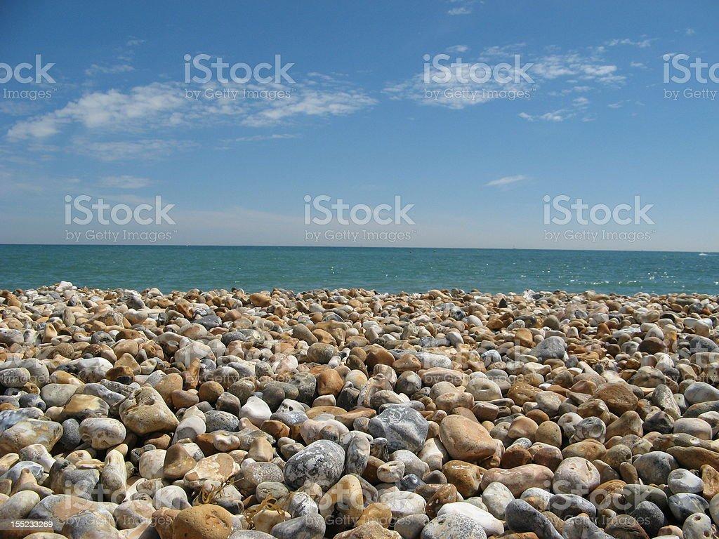 Otoczaki na Bognor Regis Beach – zdjęcie