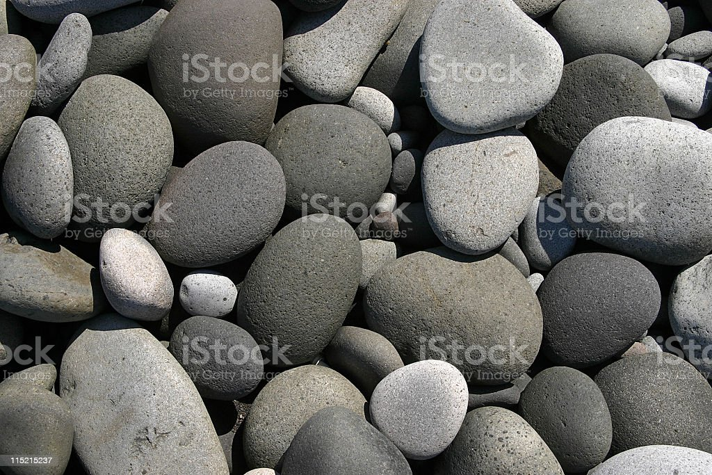 Pebbles on the beach I royalty-free stock photo