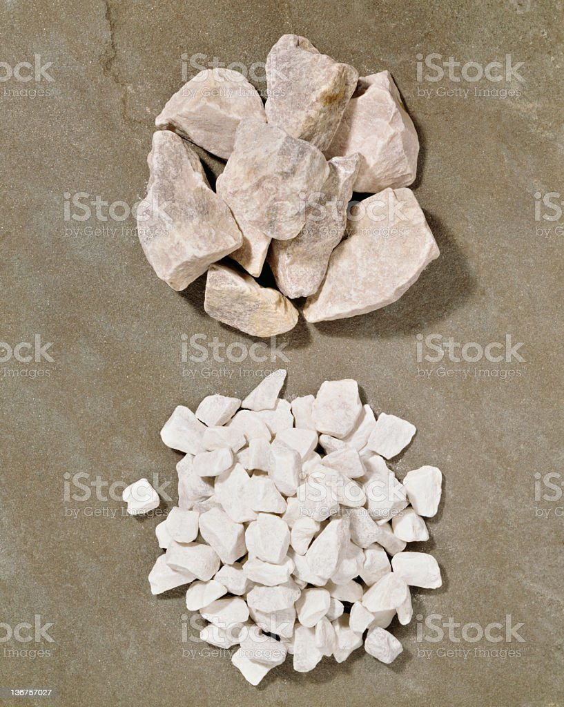 pebbles stock photo